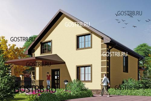 проект дома м8752