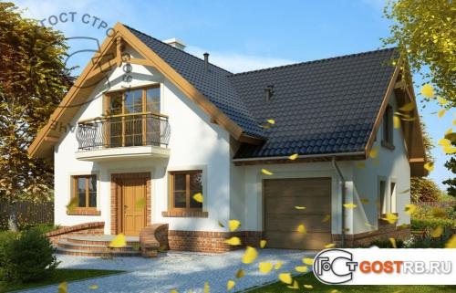Проект дома м202
