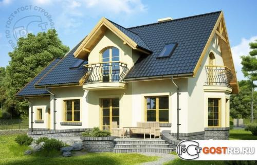 Проект дома м204