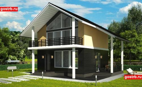 Проект дома м508
