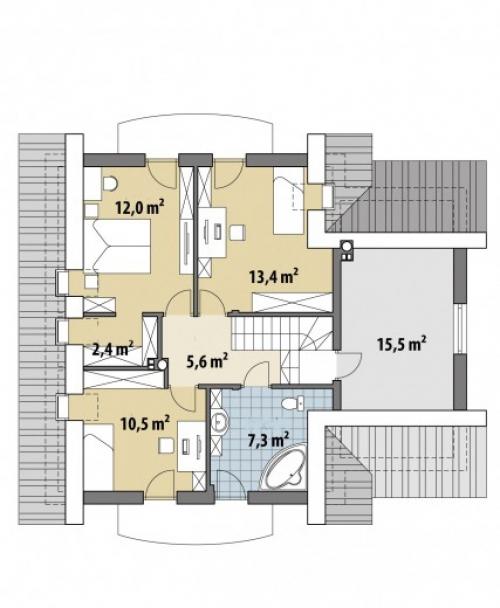 Проект дома м207
