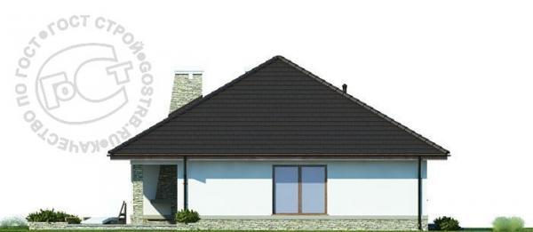 Проект дома м209