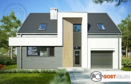 Проект дома м302