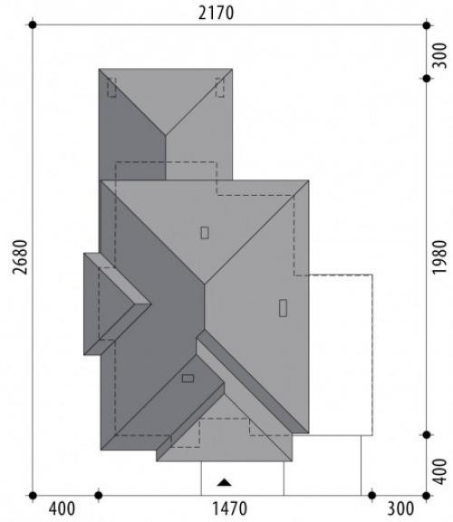 Проект дома д308