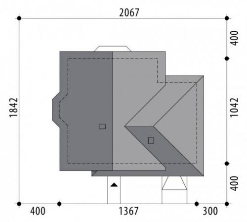 Проект дома м309