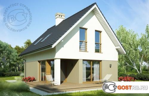 Проект дома м210
