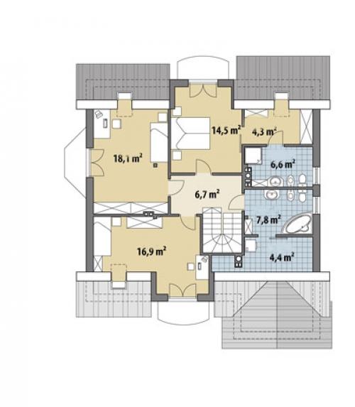 Проект дома м311