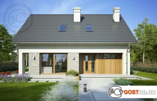 Проект дома м317