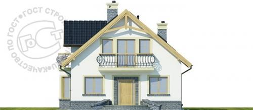 Проект дома м324