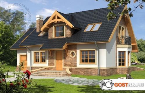 Проект дома м325