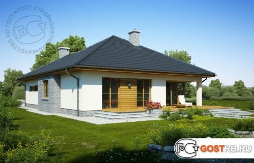 Проект дома м329