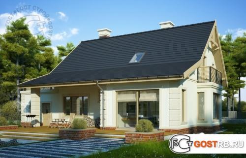 Проект дома м331