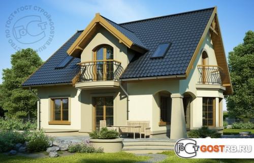Проект дома м338