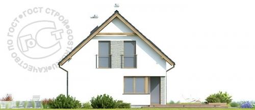 Проект дома м339