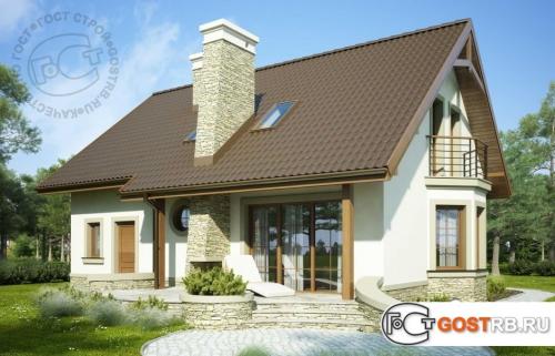 Проект дома м213