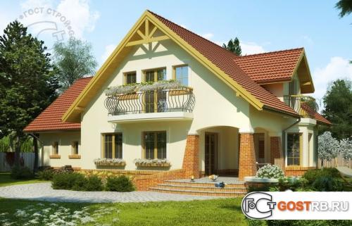 Проект дома м340