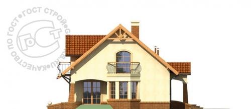Проект дома м342