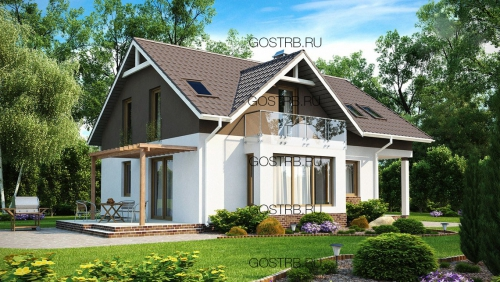 проект дома м480
