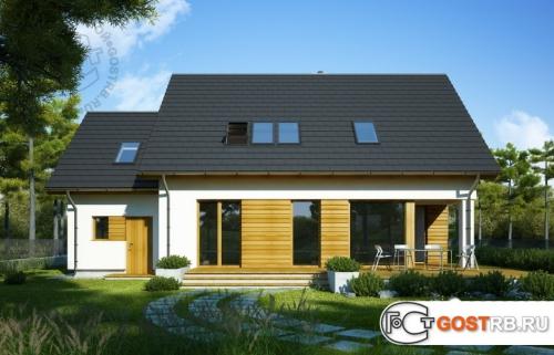 Проект дома м345