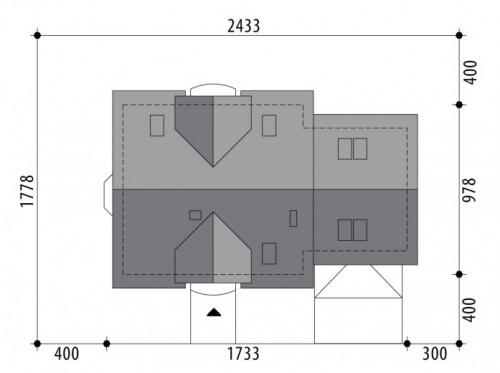 Проект дома м346