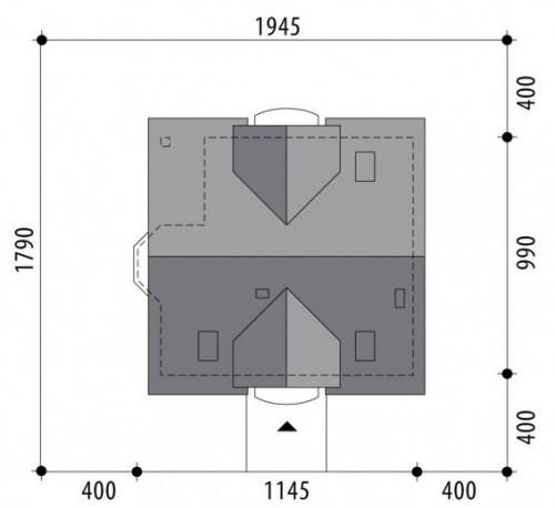 Проект дома м348