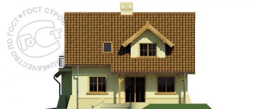 Проект дома м350