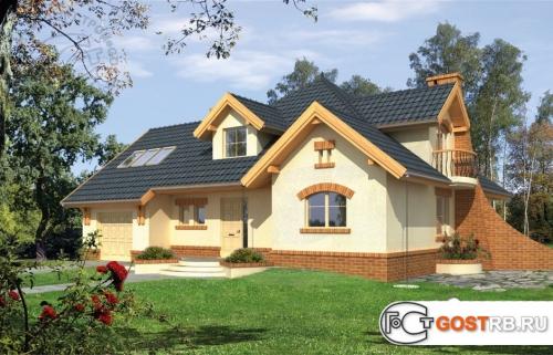 Проект дома м351