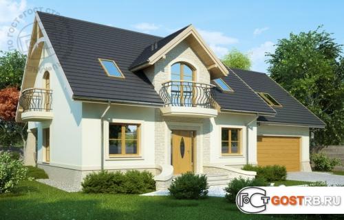 Проект дома м357