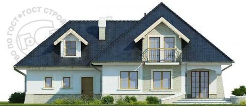 Проект дома м358