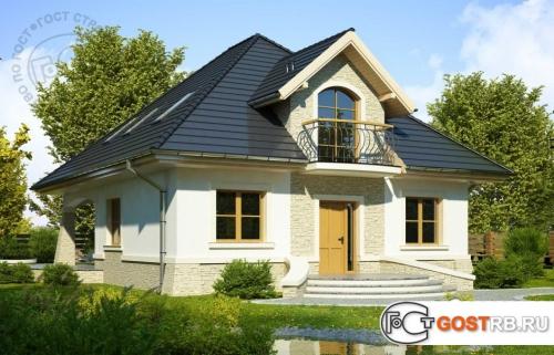 Проект дома м359