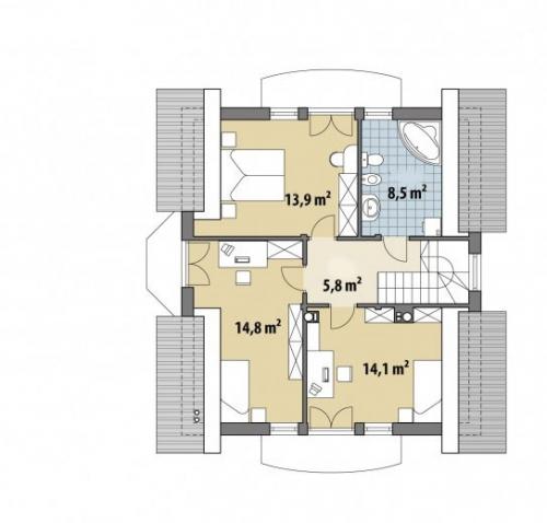 Проект дома м360