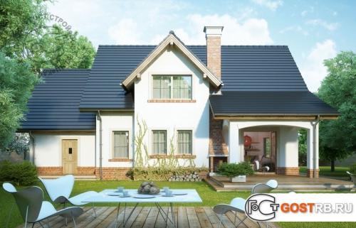 Проект дома м371
