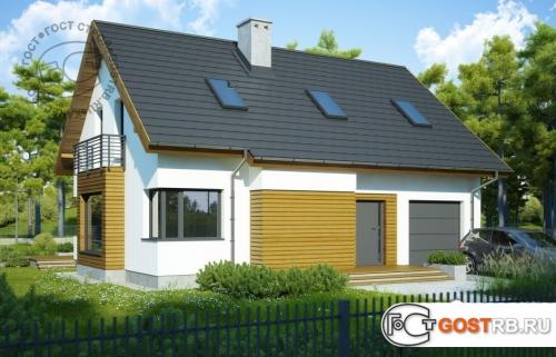 Проект дома м373