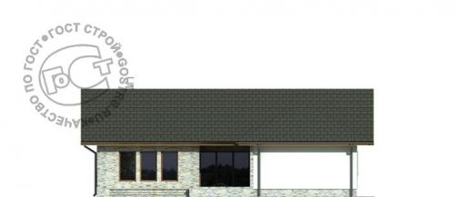 Проект дома м380