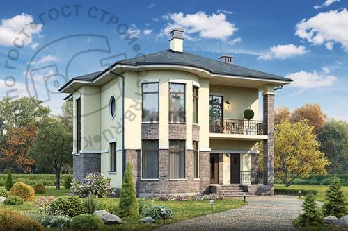 Проект дома д2810
