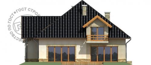 Проект дома м386