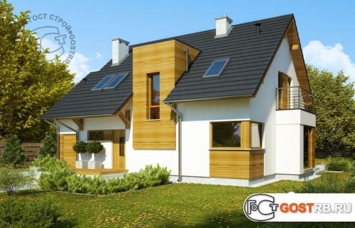 Проект дома м387