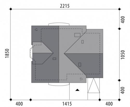 Проект дома м218