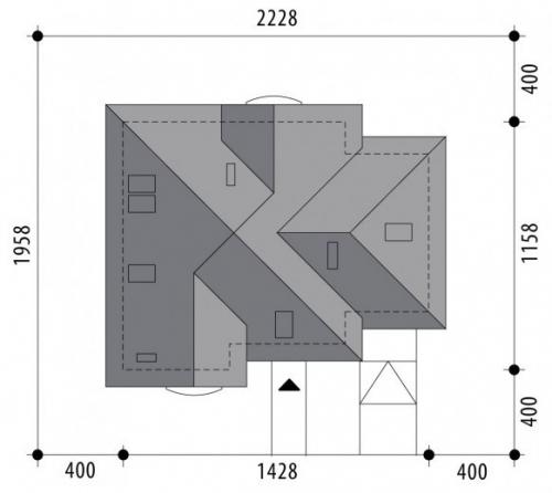 Проект дома м390