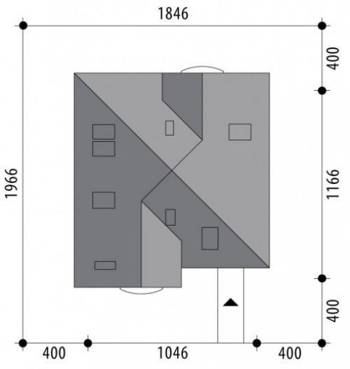 Проект дома м391
