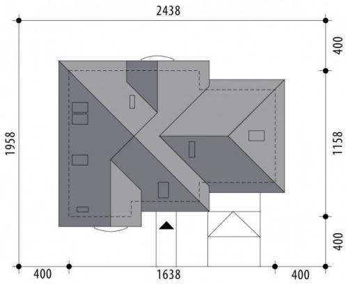 Проект дома м392