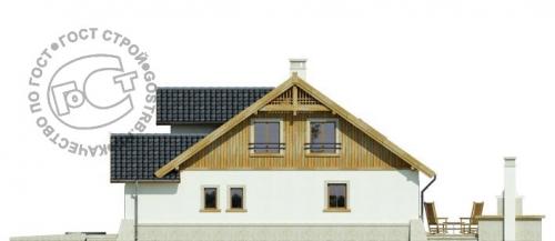 Проект дома м393