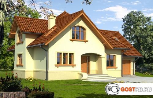 Проект дома м395