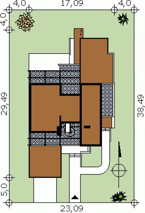 Проект дома д34