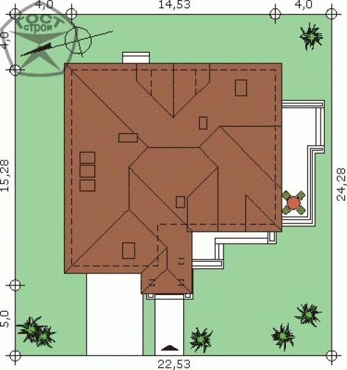 Проект дома м117