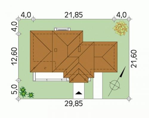 Проект дома д15