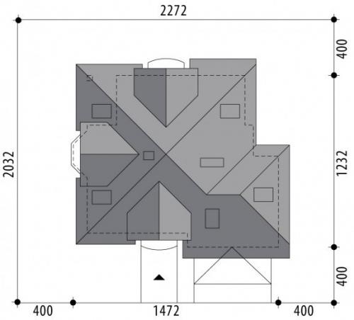 Проект дома м401