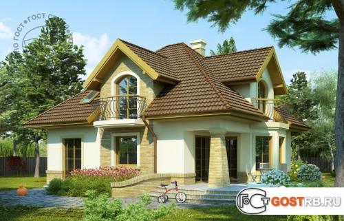 Проект дома м404