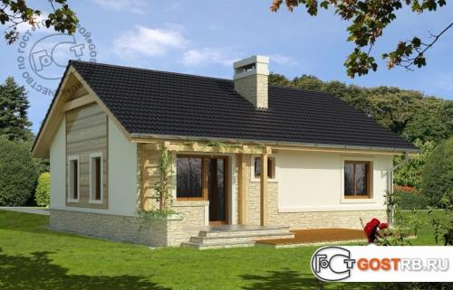 Проект дома м405