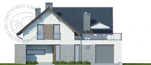 Проект дома м220
